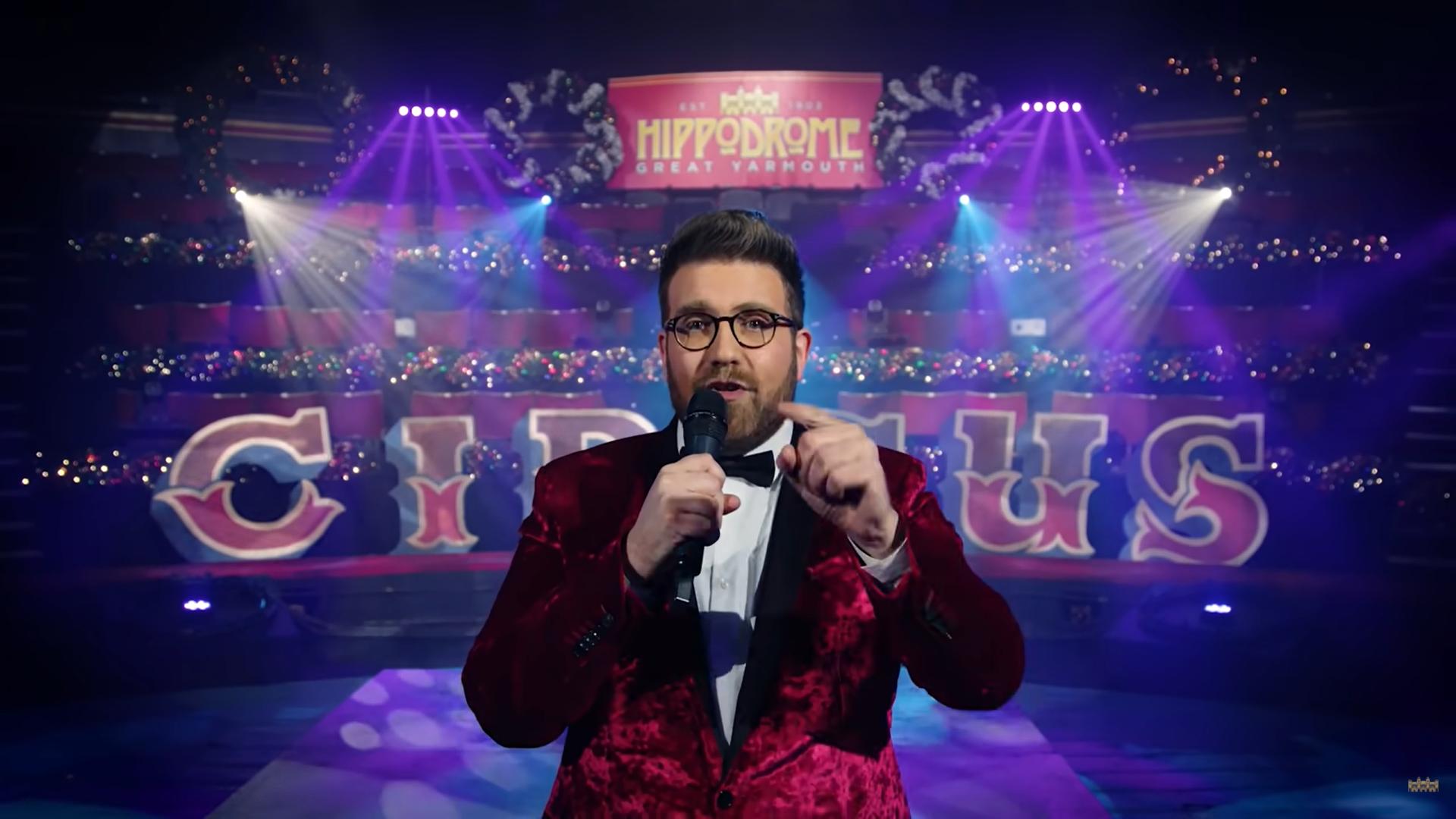 Hippodrome Circus' NYE Show illuminato da Highlite