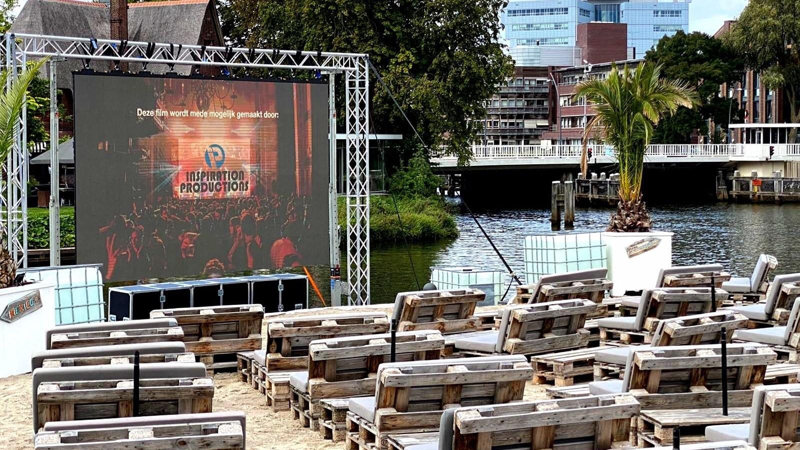 Outdoor cinema 'Stadsstrand Zwolle'