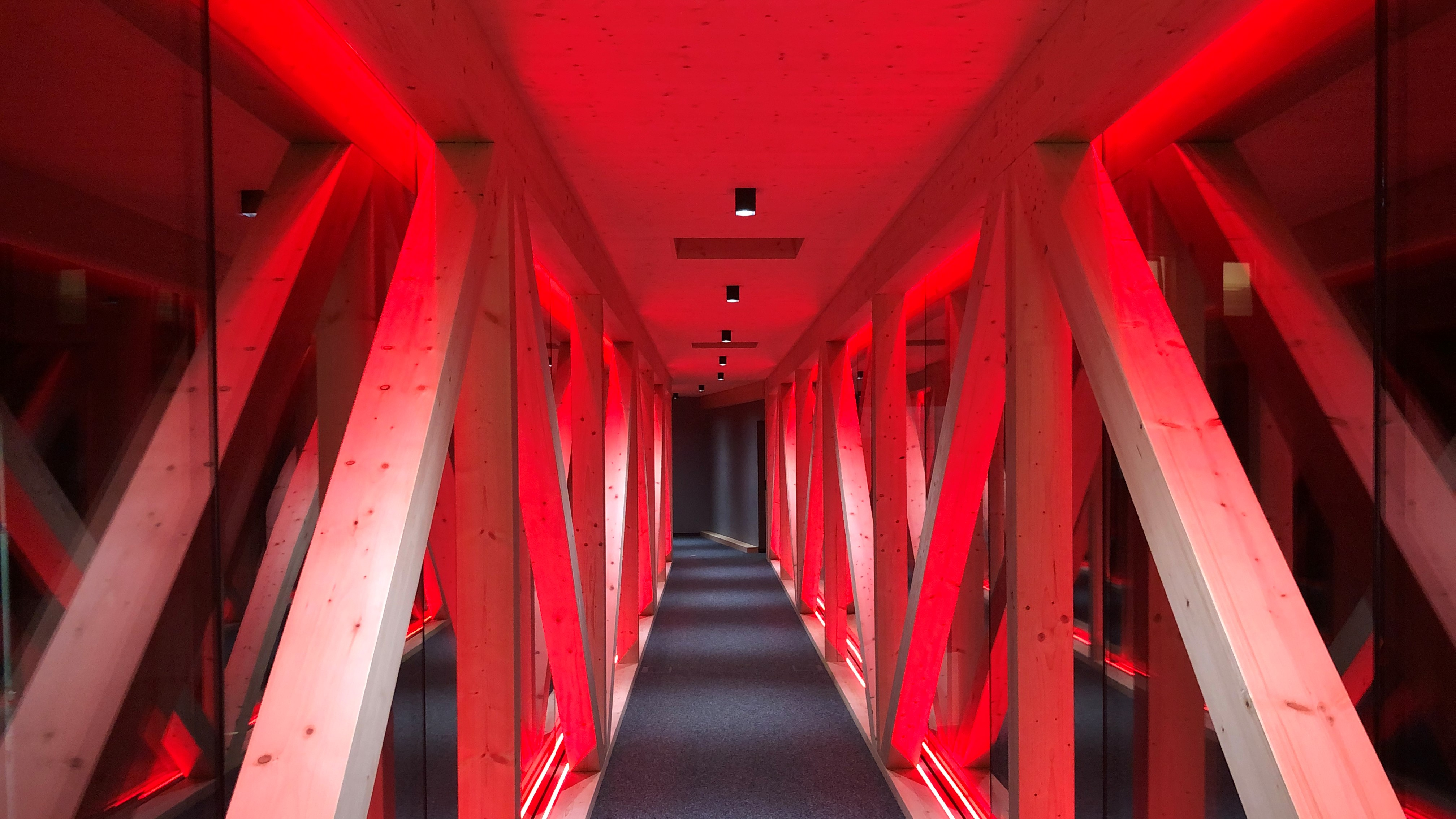 Company Rieder uses Artecta to light up the RIEDER Bridge in Zillertal, Austria!