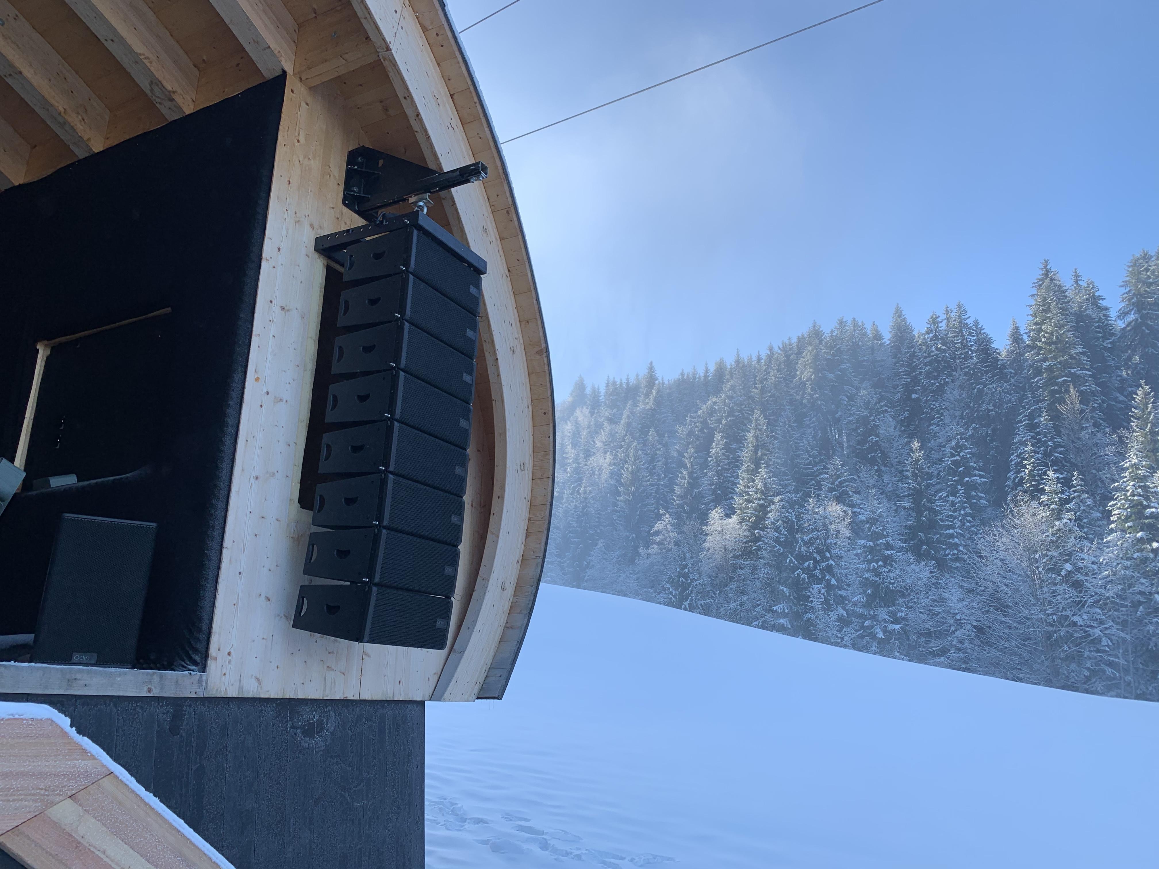 Fieberbrunn Odin installation