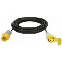 Lodestar Motor cable CEE 4P 16 A Yellow