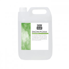 Showgear Snow/Foam Liquid 5 litre