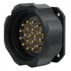 Amphenol Socapex Socapex 19 Pin male chassis connector