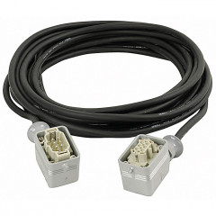 DAP Power Multicable 6 Pole male-female