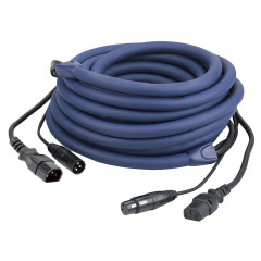 DAP FP12 - IEC/XLR M - IEC/XLR F - DMX / Power