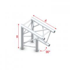Milos Pro-30 Triangle F Truss - Corner apex down