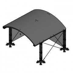 Milos MR1 Roofsystem incl. B1 canopy