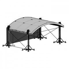 Milos MR1T Roof System with Canopy