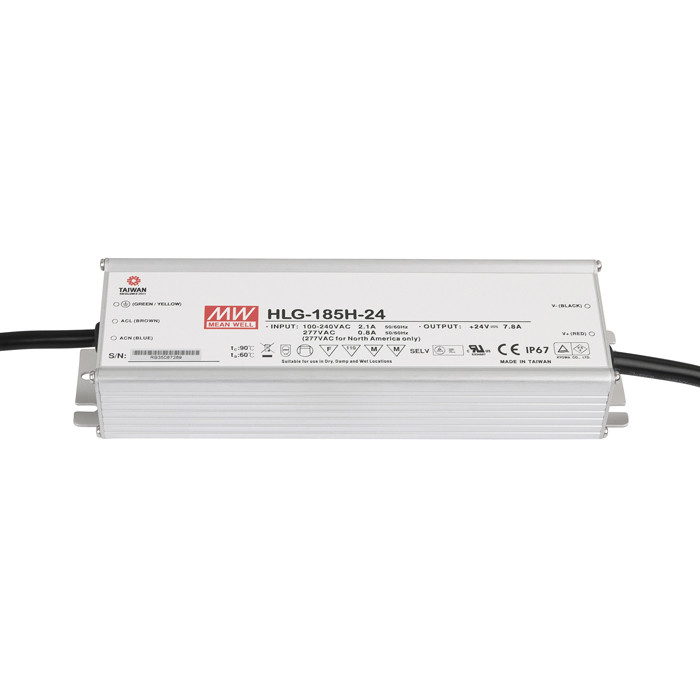 Meanwell LED Power Supply 185 W/24 VDC
