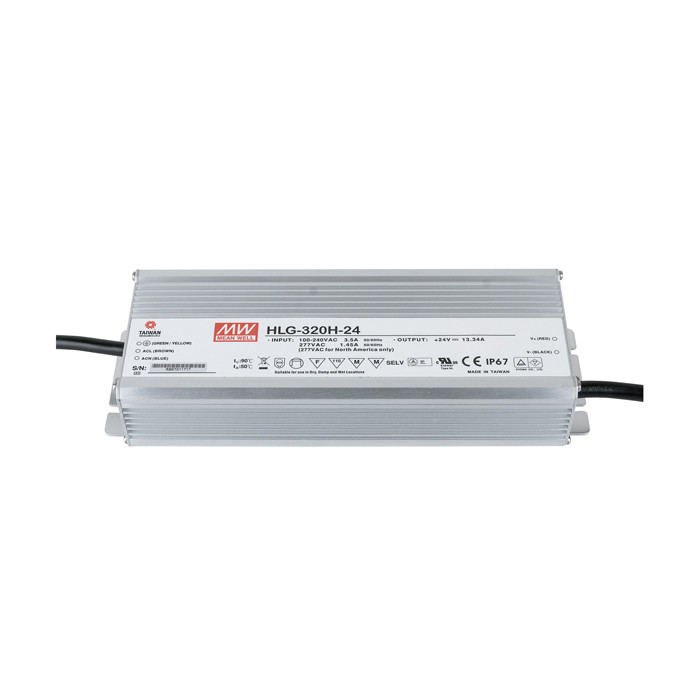 Meanwell LED Power Supply 320 W 24 VDC