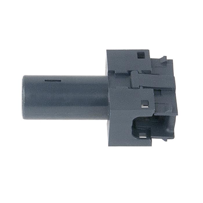 HV busbar clip-on socket