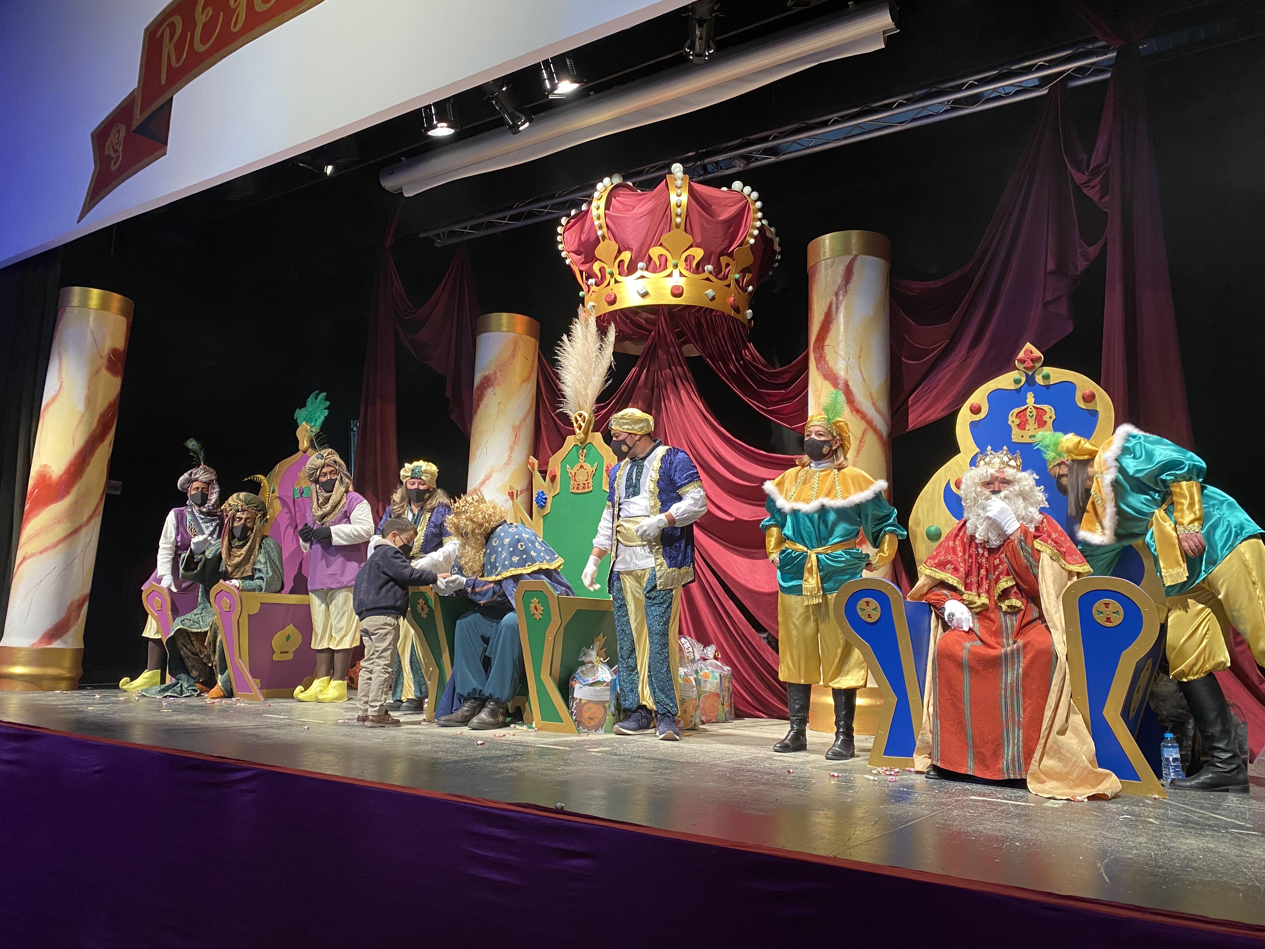 Christmas and Three Kings installation in Peñaflor, Spain