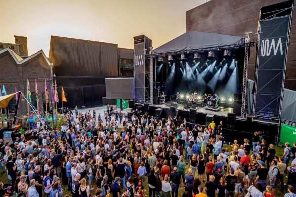 Bruis festival weekend with Infinity and Showtec