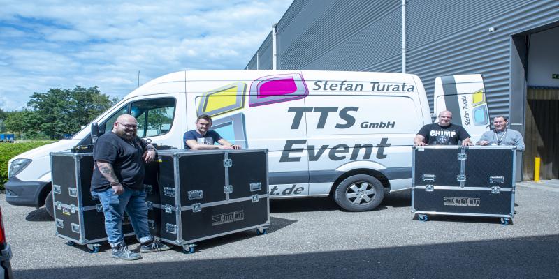 900 km Fahrt für neue Ausrüstung
