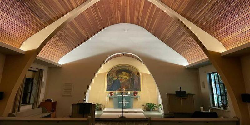 Artecta LED Ribbons in deutscher Kapelle