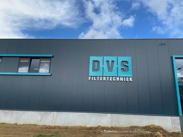 DAP PA system for DVS Filtertechniek