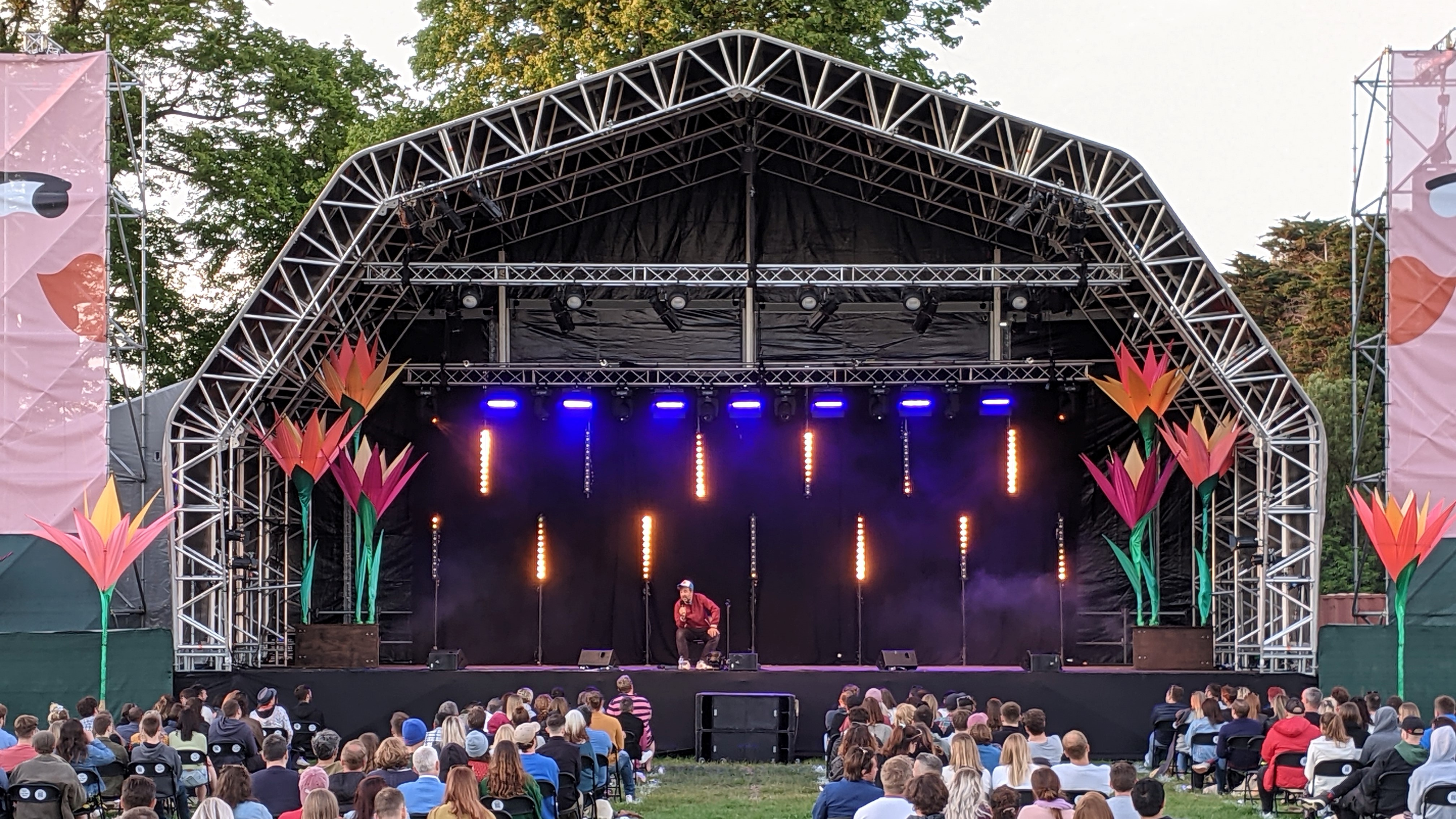 Showtec Features at Comedy Festival