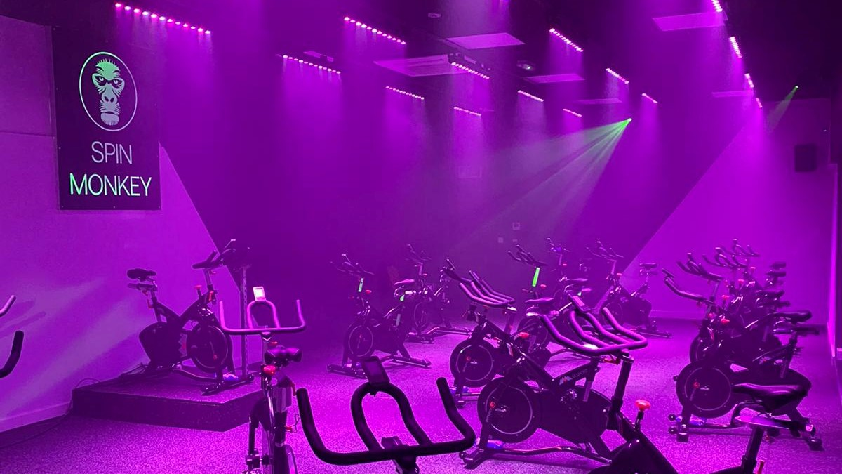 Showtec and Showgear in British spin studio